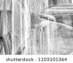 grunge abstract black and white ...   Shutterstock . vector #1103101364