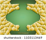3 stage abstract banner with 3d ... | Shutterstock .eps vector #1103113469