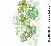 watercolor illustration of... | Shutterstock . vector #1103115107