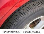 close up macro car tire tread... | Shutterstock . vector #1103140361