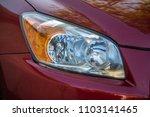 car headlight headlamp light... | Shutterstock . vector #1103141465