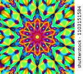 psychedelic background.... | Shutterstock . vector #1103151584