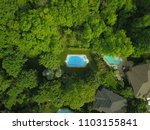 top down aerial drone image of... | Shutterstock . vector #1103155841