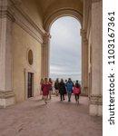 villa d'este  tivoli  lazio... | Shutterstock . vector #1103167361