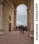 villa d'este  tivoli  lazio... | Shutterstock . vector #1103167379