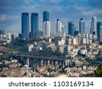 istanbul downtown view | Shutterstock . vector #1103169134