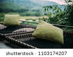 Pillow With Nature Background
