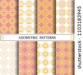 octagon geometric vector... | Shutterstock .eps vector #1103183945