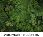 top down aerial drone image of... | Shutterstock . vector #1103191487