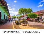 granada  nicaragua  may  14 ... | Shutterstock . vector #1103200517