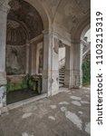 villa d'este  tivoli  lazio... | Shutterstock . vector #1103215319