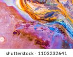 abstract corrosion texture on... | Shutterstock . vector #1103232641