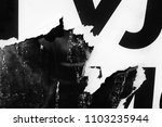 old grunge ripped torn vintage... | Shutterstock . vector #1103235944