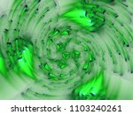 abstract fractal background 3d... | Shutterstock . vector #1103240261