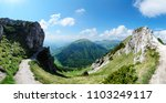 panoramic view from the great... | Shutterstock . vector #1103249117