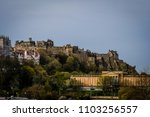view of edinburgh castle taken...   Shutterstock . vector #1103256557
