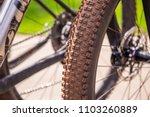 close up macro on mountain bike ... | Shutterstock . vector #1103260889