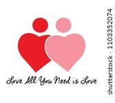 find your love | Shutterstock .eps vector #1103352074