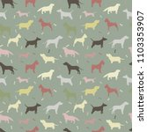seamless pattern with different ... | Shutterstock .eps vector #1103353907