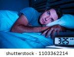 restless worried young... | Shutterstock . vector #1103362214