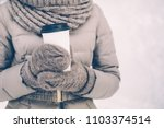 Close Up Of Woman In Warm...