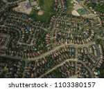 top down aerial drone image of... | Shutterstock . vector #1103380157