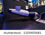 berlin   april 26  2018  space... | Shutterstock . vector #1103405681