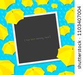 monsoon season light blue rainy ...   Shutterstock .eps vector #1103407004
