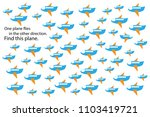 find different plane  fun... | Shutterstock .eps vector #1103419721