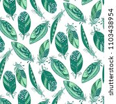 seamless pattern in marine... | Shutterstock .eps vector #1103438954