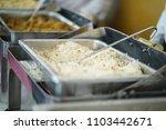 self service restaurant  | Shutterstock . vector #1103442671