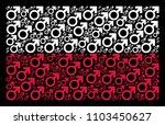 polish state flag collage... | Shutterstock .eps vector #1103450627