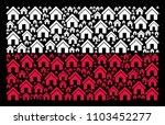 polish national flag pattern... | Shutterstock .eps vector #1103452277