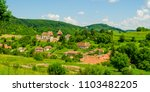 alma vii village and fortified...   Shutterstock . vector #1103482205