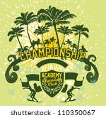 palm beach | Shutterstock .eps vector #110350067