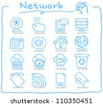 pure series   hand drawn... | Shutterstock .eps vector #110350451