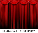 abstract of drake red curtain... | Shutterstock .eps vector #1103506019
