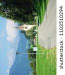 curon venosta  south tyrol ... | Shutterstock . vector #1103510294