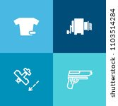 modern  simple vector icon set... | Shutterstock .eps vector #1103514284