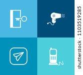 modern  simple vector icon set...   Shutterstock .eps vector #1103519285