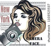 fashion vector illustration... | Shutterstock .eps vector #1103525537