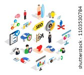 new workforce icons set.... | Shutterstock .eps vector #1103530784