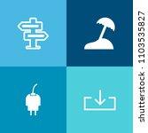 modern  simple vector icon set...   Shutterstock .eps vector #1103535827