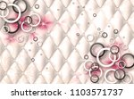 3d floral and geometrical... | Shutterstock . vector #1103571737