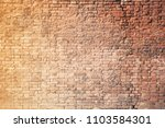 old brick wall in venice | Shutterstock . vector #1103584301