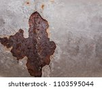 rust and corrosion in the... | Shutterstock . vector #1103595044