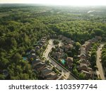 top down aerial drone image of... | Shutterstock . vector #1103597744