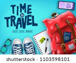 top view time to travel 3d... | Shutterstock .eps vector #1103598101