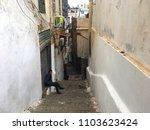 Small photo of Casbah, Algiers, Algeria - December 17, 2016: Algerian boys in narrow streets of old city.