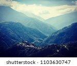 landscape  sunset  sky  beach ... | Shutterstock . vector #1103630747